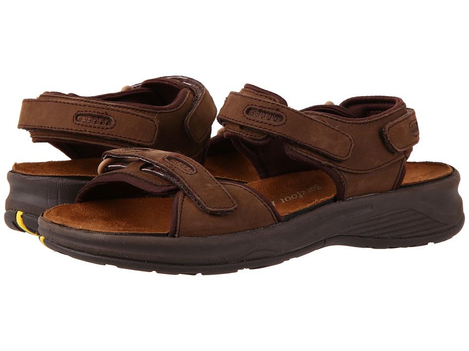 Drew Cascade (Brown Nubuck) Sandals