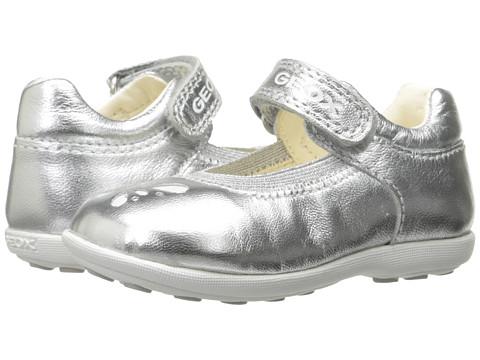 Geox Kids Jr Girl Jodie 79 (Toddler) - Silver