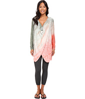 Hard Tail - Long Sleeve Drape Neck Tunic