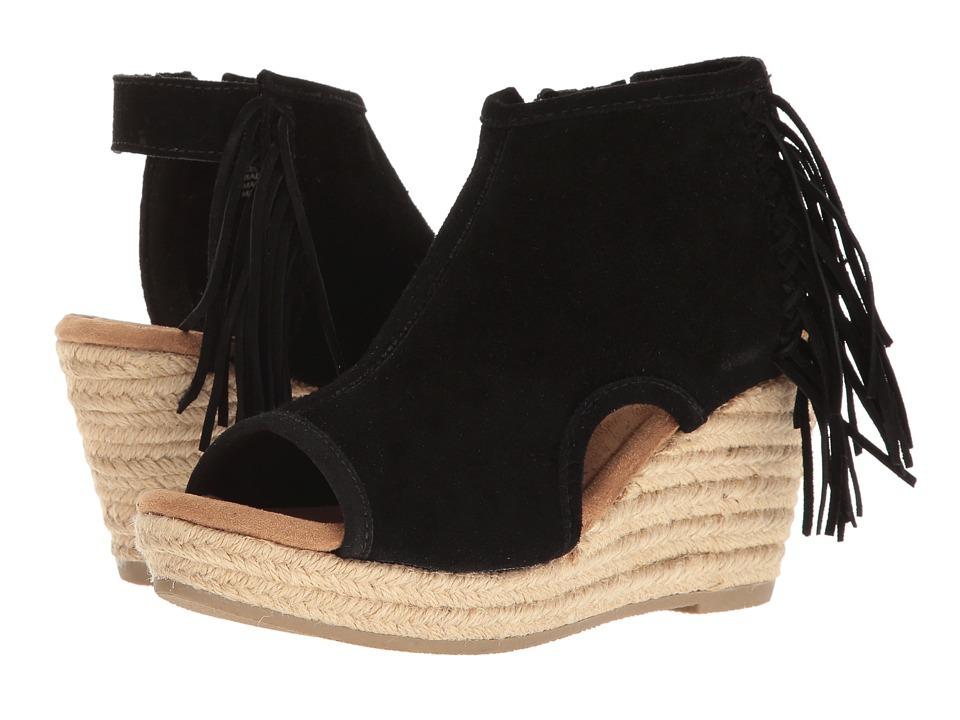 Minnetonka - Blaire (Black) Womens Wedge Shoes
