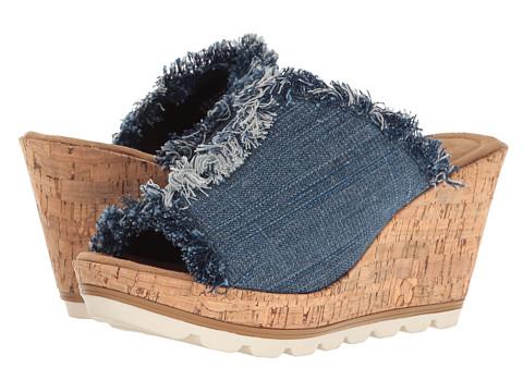 Minnetonka York - Blue Denim Fabric