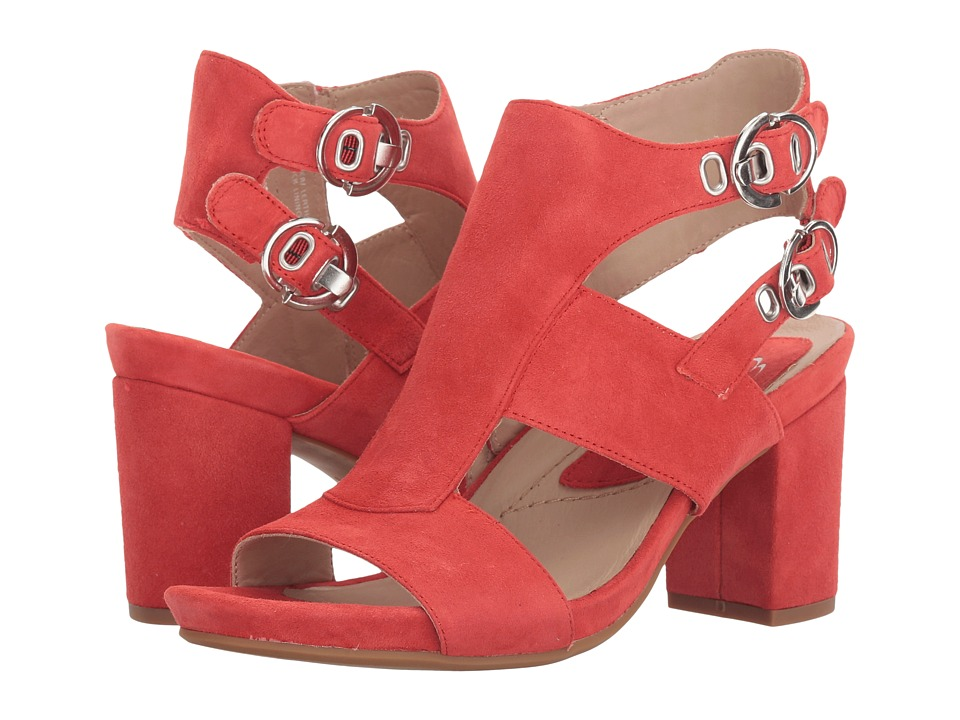 Earth - Marino Earthies (Bright Coral Suede) Womens  Shoes