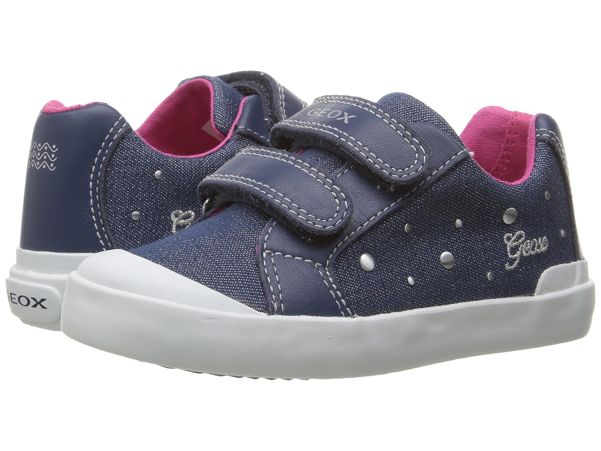 Geox Kids Jr Kiwi Girl 84 Toddler Zappos Free