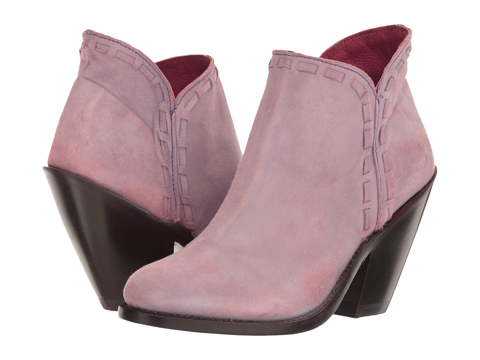 Dan Post Marlena (Lilac Nubuck Fashion Round) Cowboy Boots