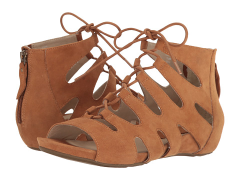 Earth Roma Earthies - Cognac Suede
