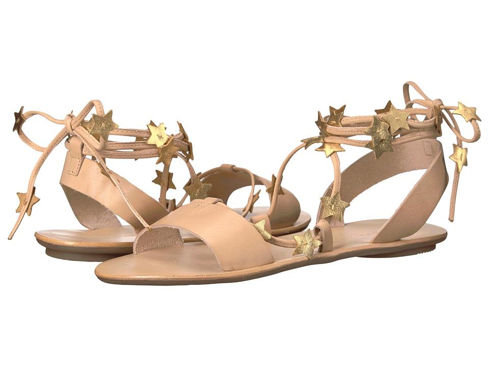 Loeffler Randall - Starla (Wheat Vachetta/Gold Foil) Womens Sandals