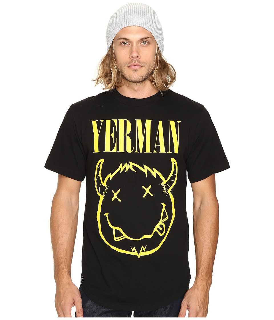 Depressed Monsters - Yervana Scoop Tee (Black) T Shirt