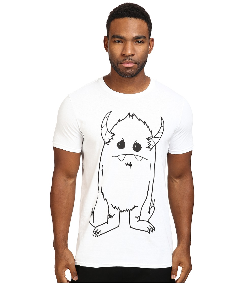 Depressed Monsters - Yerman Premium Tee (White) T Shirt
