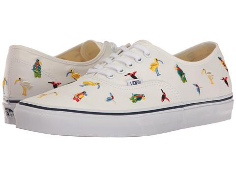 Vans Authentic™ - (Bird Embroidery) True White