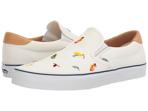 Vans Slip-On 59 - (Bird Embroidery) True White