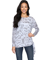 Allen Allen - Long Sleeve Side-Tie Top