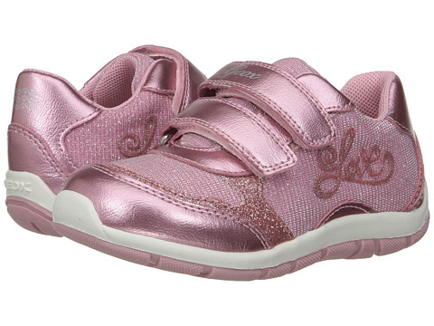 Geox Kids Jr Shaax Girl 15 (Toddler) - Pink