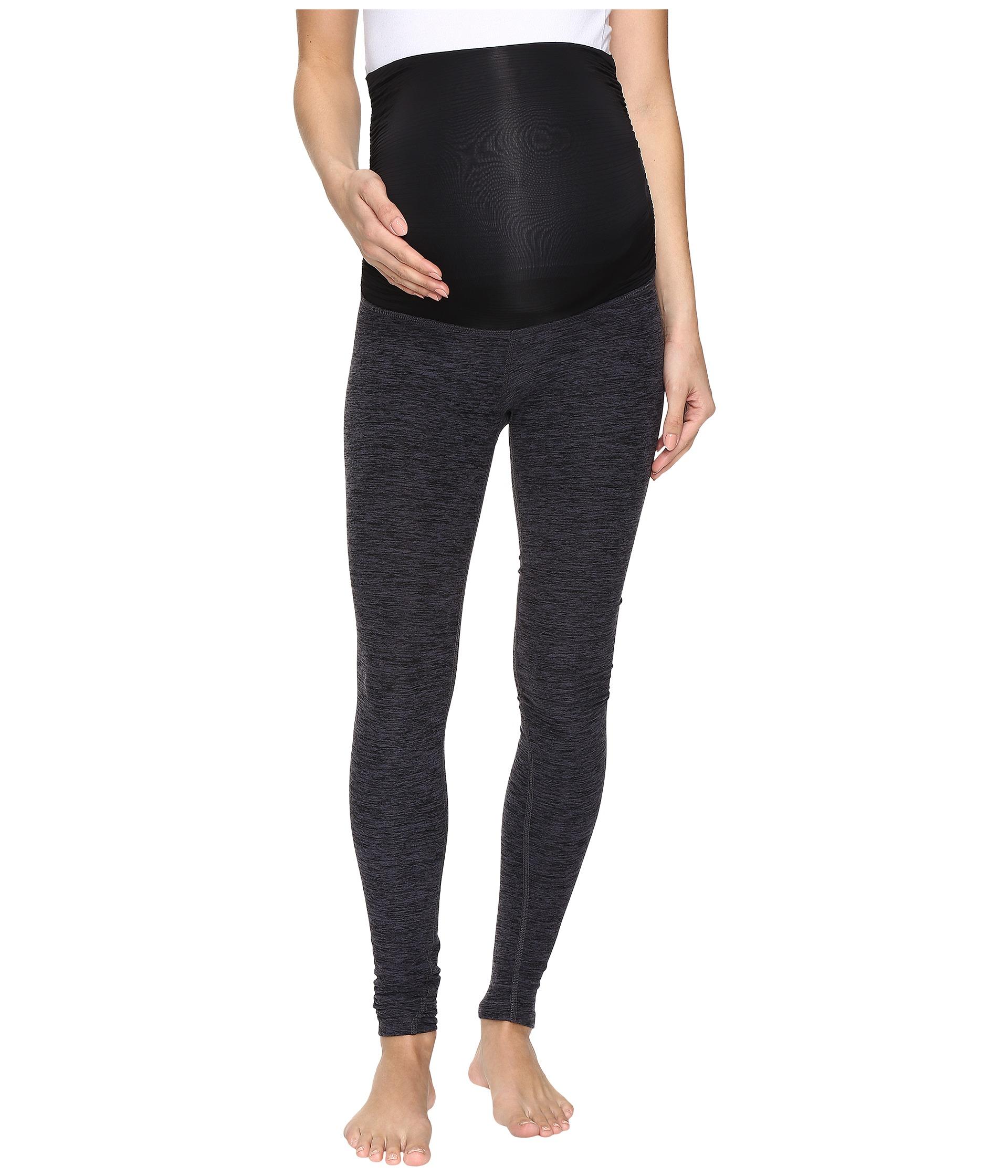 Beyond Yoga Fold Down Maternity Long Leggings At Zappos.com
