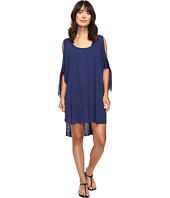 BECCA by Rebecca Virtue - Breezy Basics Cold Shoulder Poncho Cover-Up