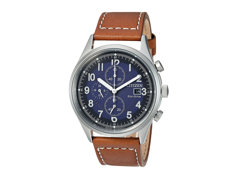 Citizen Watches - CA0621-05L Eco-Drive (Brown) Watches