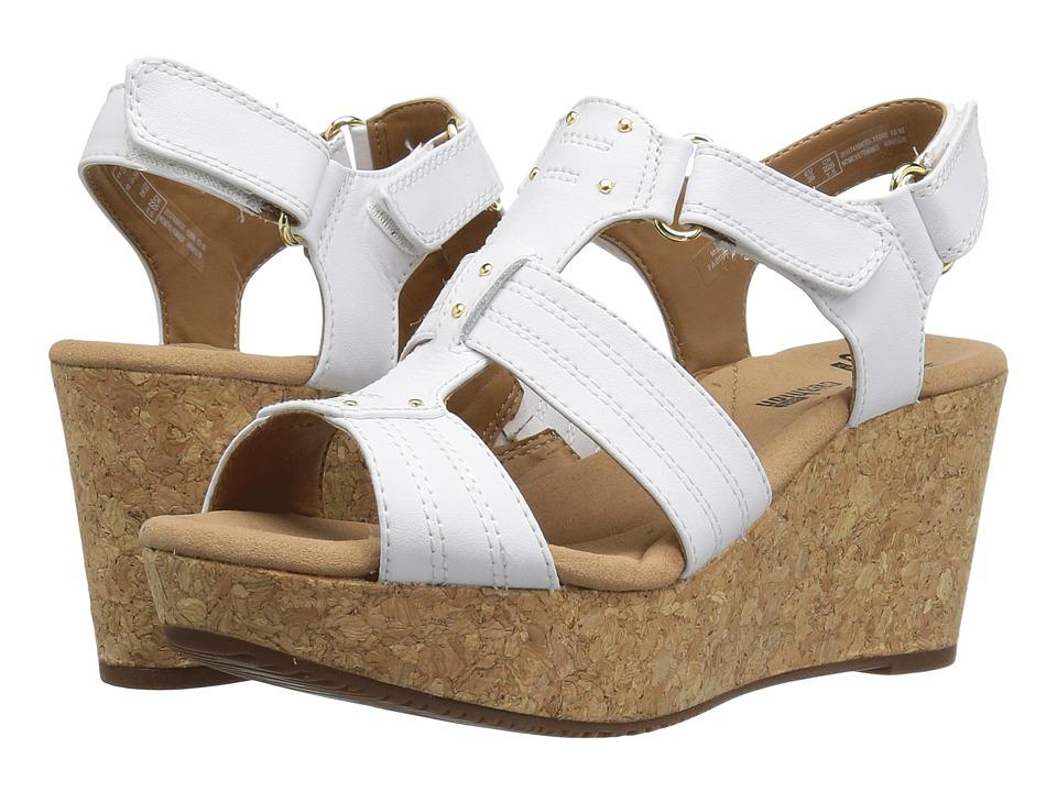 Clarks Annadel Orchid (White) Women's Sandals