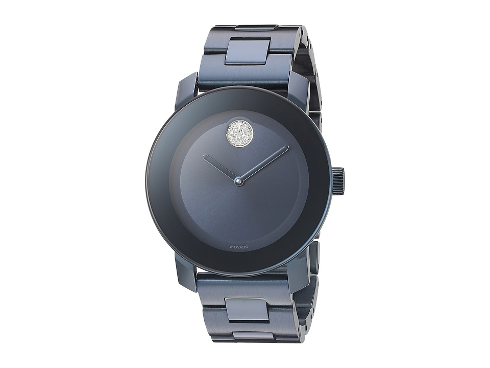 Movado Bold - 3600388 (Ionic Plated Blue Steel) Watches