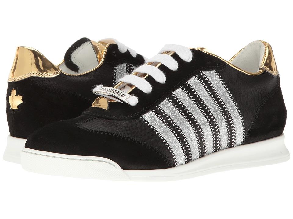 DSQUARED2 Sneaker (Nero/Oro) Women