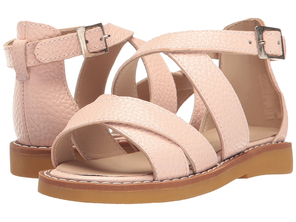Elephantito Cecil Crossed Sandal (Toddler/Little Kid/Big Kid) (Pink) Girls Shoes