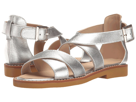 Elephantito Cecil Crossed Sandal (Toddler/Little Kid/Big Kid) - Silver