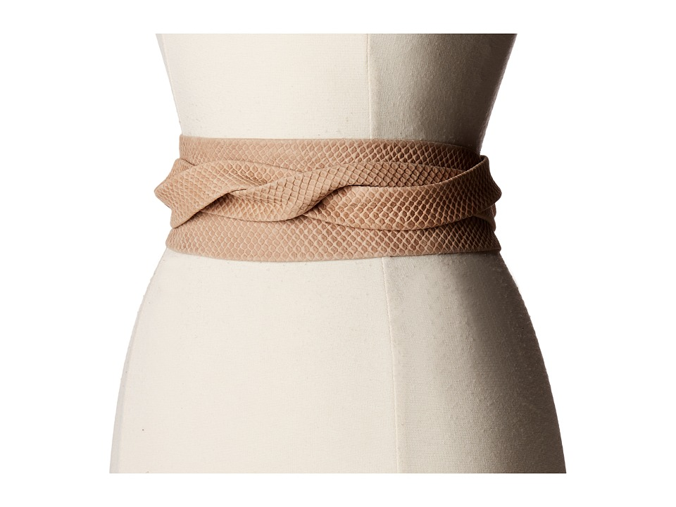 Image of ADA Collection - Obi Classic Wrap (Bare Beige) Women's Belts