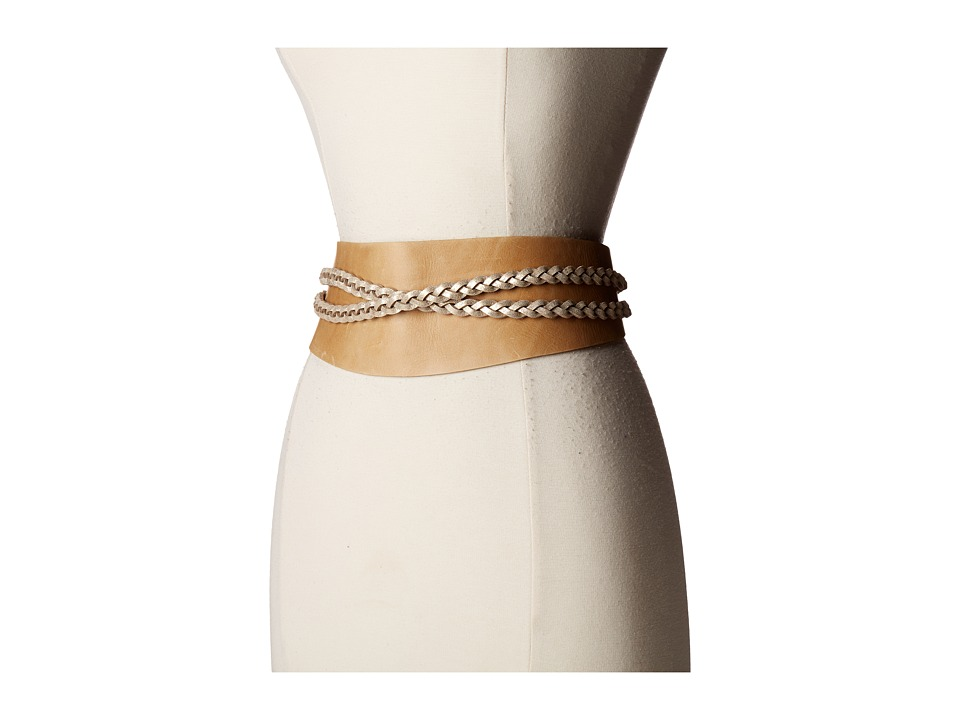 Image of ADA Collection - Dakota Belt (Camel/Gold) Women's Belts