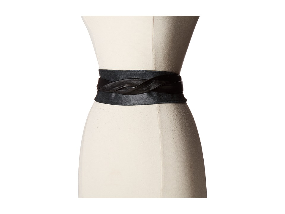Image of ADA Collection - Obi Classic Wrap (Black Suede) Women's Belts
