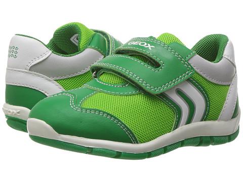 Geox Kids Baby Shaax Boy 25 (Toddler) - Green