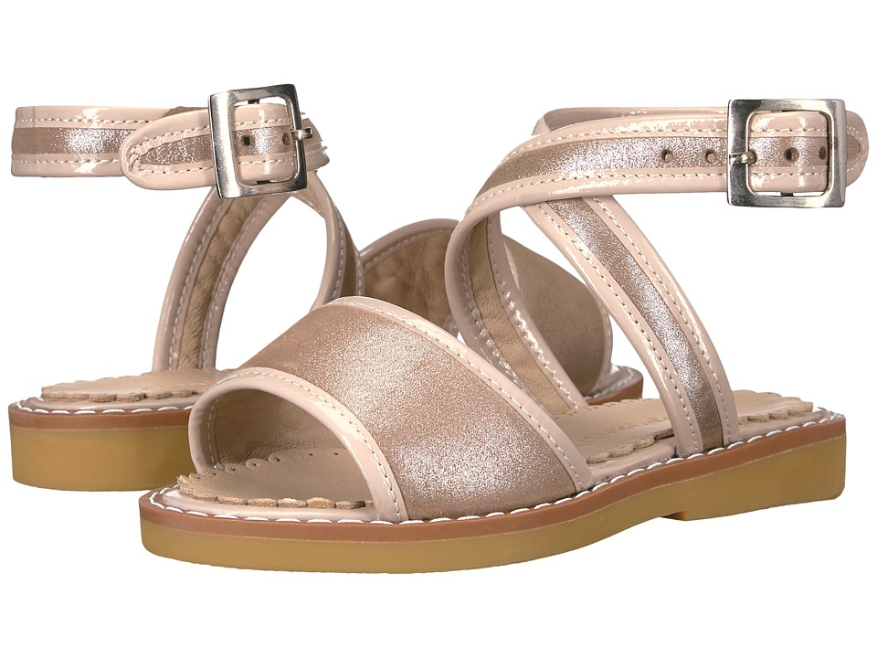 Elephantito Valeria Sandal (Toddler/Little Kid/Big Kid) (Blush) Girls Shoes