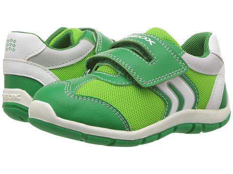 Geox Kids Baby Shaax Boy 25 (Toddler) - Green