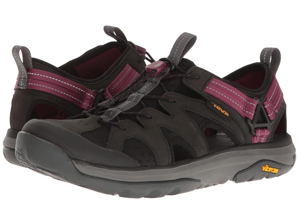 Teva Terra-Float Active Lace (Black) Women's Shoes
