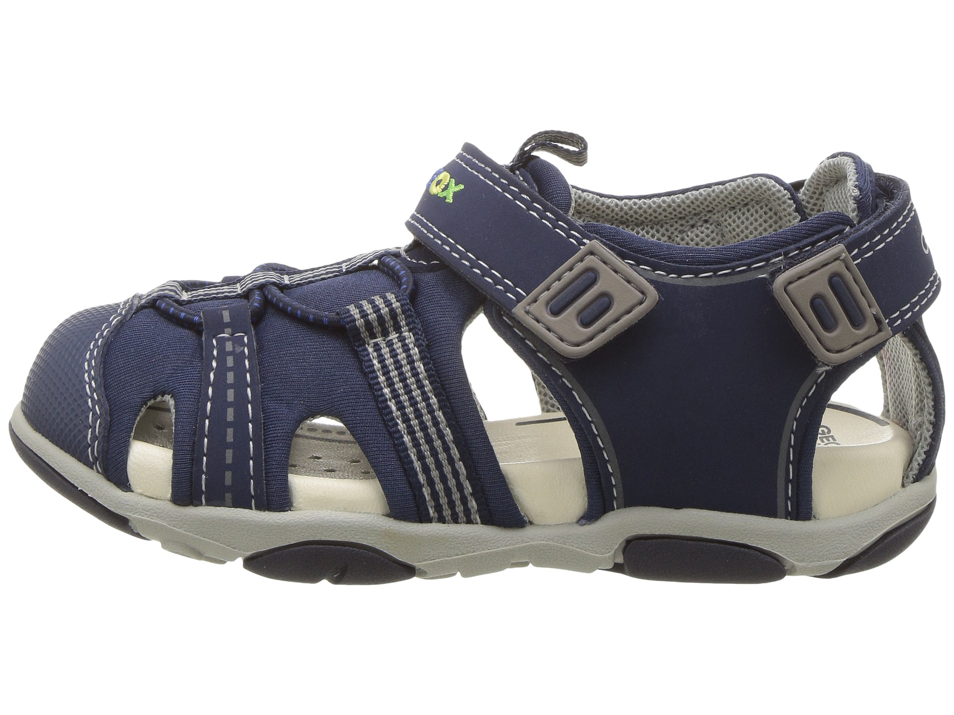 Geox Kids Baby Sandal Agasim Boy 1 (Toddler) at Zappos.com