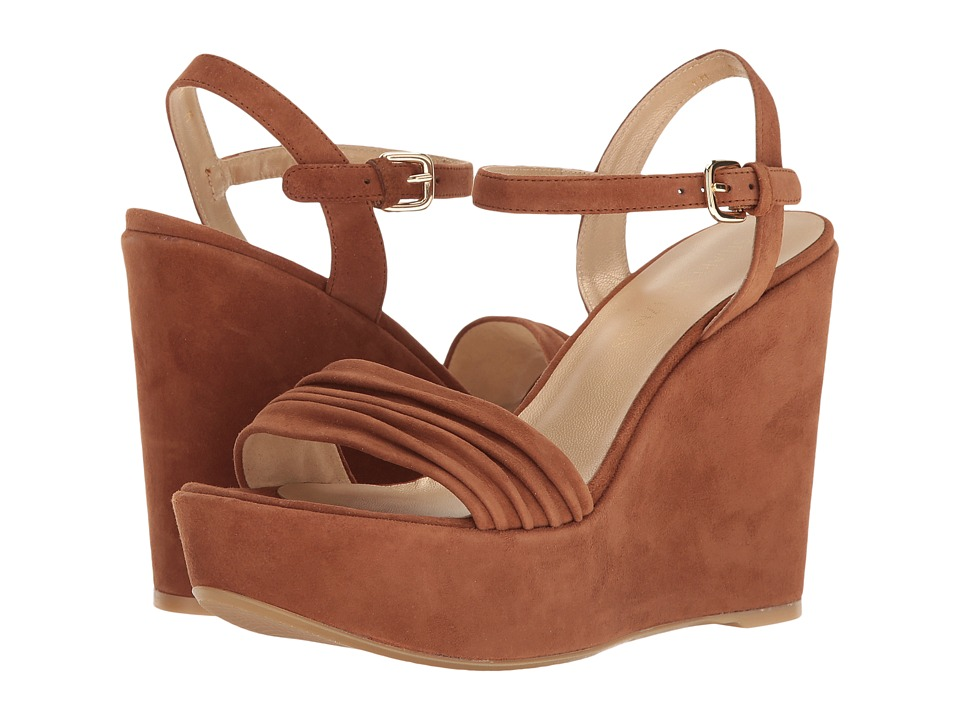 Stuart Weitzman Sundraped (Saddle Suede) Women