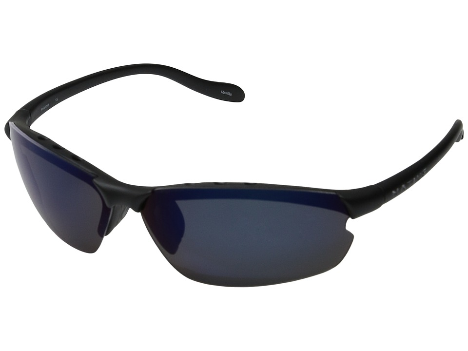 Native Eyewear Dash XPtm (Asphalt/Blue Reflex (Gray) Lens) Sport Sunglasses