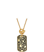 Vivienne Westwood - Angelo Long Tag Pendant Necklace