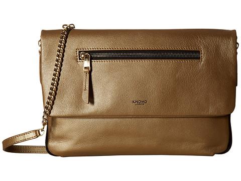 KNOMO London Mayfair Luxe Elektronista Digital Clutch Bag - Gold
