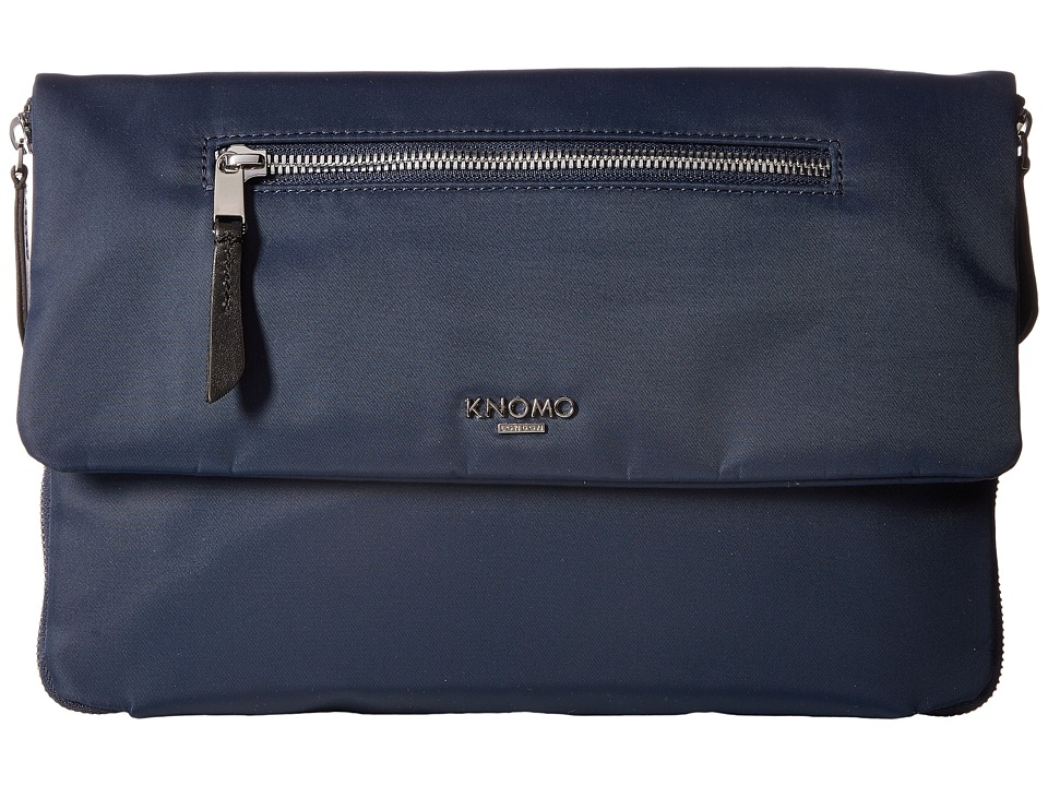 KNOMO London Mayfair Elektronista Digital Clutch Bag (Navy) Clutch Handbags