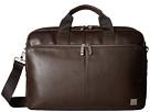 KNOMO London Brompton Classic Amesbury Double Zip Briefcase