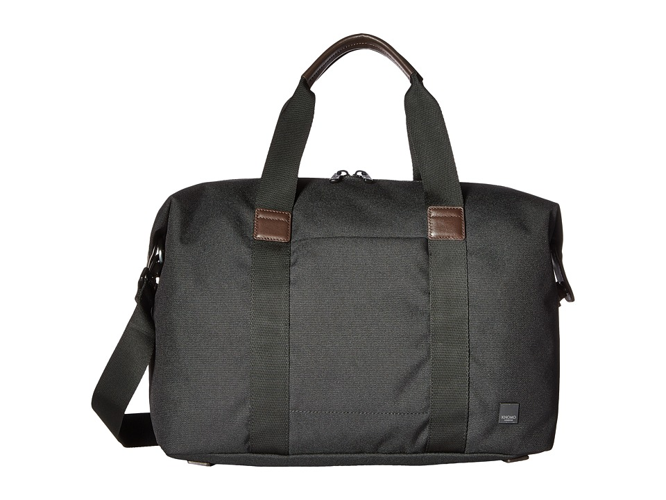 KNOMO London Brompton Munich Weekend Duffel (Charcoal) Duffel Bags