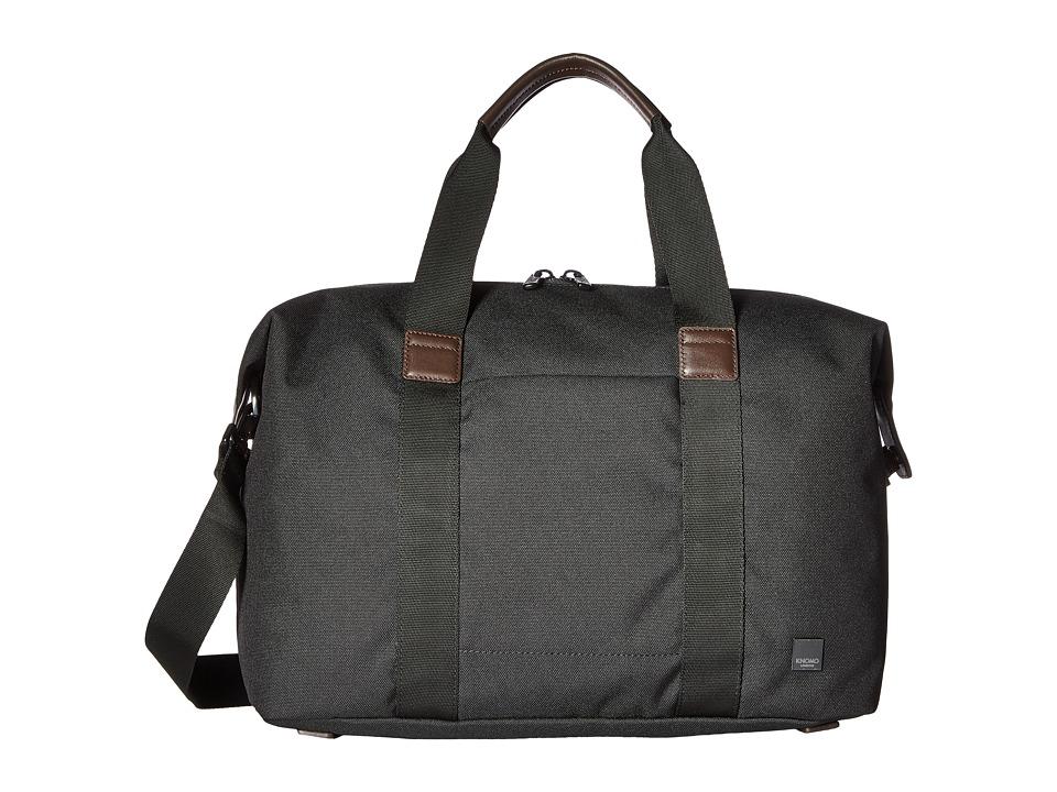 KNOMO London Brompton Munich Weekend Duffel (Charcoal) Duffel Bags