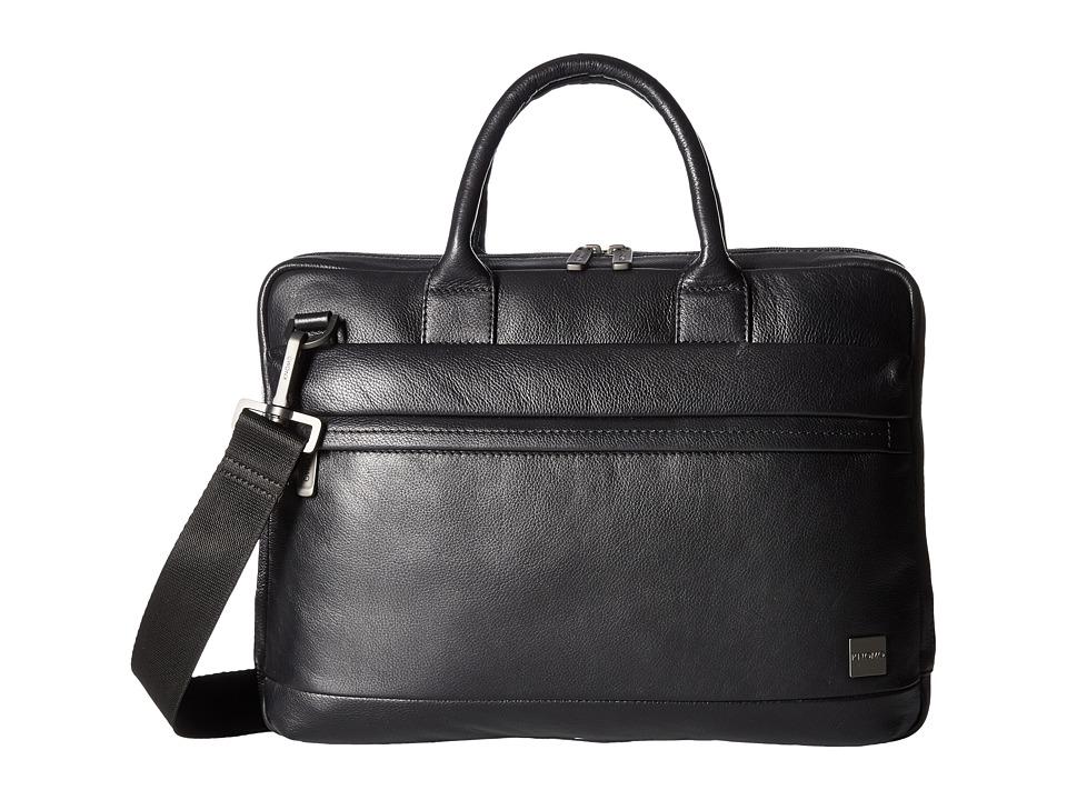 KNOMO London Barbican Foster Laptop Briefcase (Black) Briefcase Bags