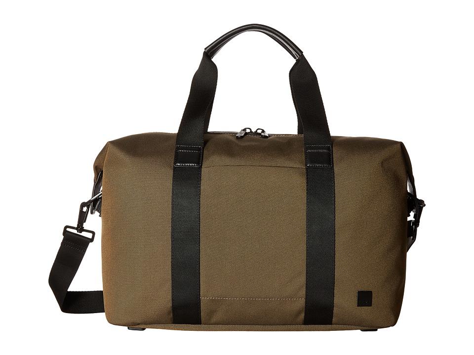 KNOMO London Brompton Munich Weekend Duffel (Deep Army Green) Duffel Bags