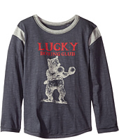 Lucky Brand Kids - Boxing Club Long Sleeve Tee (Little Kids/Big Kids)