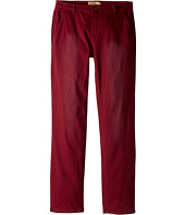 Lucky Brand Kids - Slim Fit Twill Pants w/ Slash Front Pockets (Big Kids)