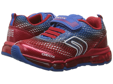 Geox Kids Jr Android Boy 11 (Toddler/Little Kid) - Royal/Red