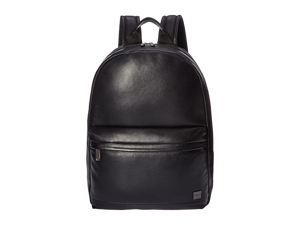 KNOMO London - Barbican Albion Laptop Backpack (Black) Backpack Bags