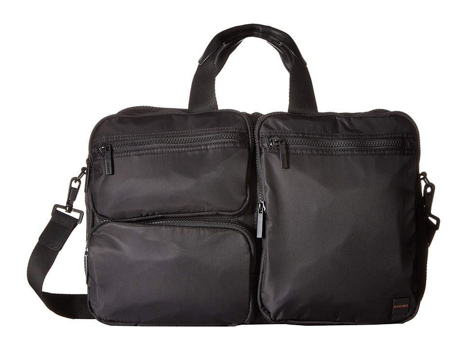 KNOMO London Pimlico Wilton Laptop Toploader (Black) Computer Bags
