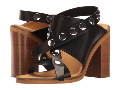 MM6 Maison Margiela Adjustable Studded Strap Sandal