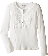 Lucky Brand Kids - Long Sleeve Thermal Top with Embroidery (Big Kids)