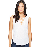 Splendid - Slub Tees Lace Up Tank